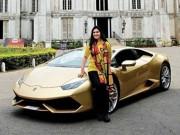 Ô tô - Người phụ nữ Ấn Độ đầu tiên sở hữu Lamborghini
