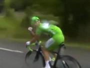 """Thể thao - Cua-rơ đã """"tè bậy"""" còn chửi phóng viên ở Tour de France"""