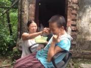 Bạn trẻ - Cuộc sống - Xúc động chị dâu chăm sóc em chồng tật nguyền