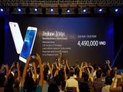 Asus trình làng Zenfone 3 Laser và Zenfone 3 Max giá mềm