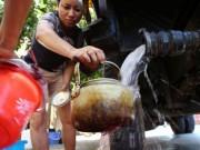Tin tức trong ngày - HN: Đường nước sông Đà giảm áp, hàng ngàn hộ dân thiếu nước