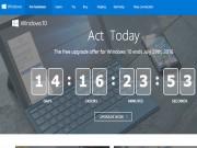 """Công nghệ thông tin - Chỉ còn 2 tuần để """"lên đời"""" Windows 10 miễn phí cho laptop"""