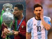 Bóng đá - 2016: Năm duy nhất Ronaldo thực sự vượt Messi?