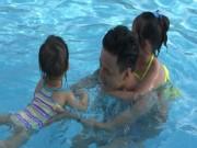 """4 cặp bố con  """" Bố ơi mình đi đâu thế """"  vui vẻ ở Hà Nội"""