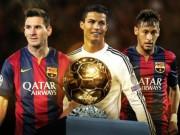"""Bóng đá - Đến lượt Neymar """"dâng"""" Quả bóng vàng cho Ronaldo"""