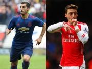 Bóng đá - Chân chuyền số 1 Premier League: Mkhitaryan đe dọa Ozil