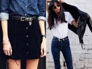 """Thời trang - Mẫu thắt lưng khiến các hotgirl Hollywood """"sôi sục"""""""