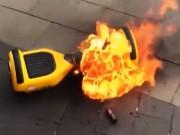 Công nghệ thông tin - Cảnh báo: Xe điện tự cân bằng có thể phát nổ