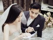 Phim - Ngọc Lan hạnh phúc mặc váy cô dâu