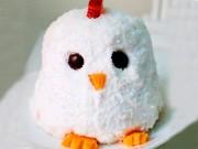 Cách làm bánh kem gà bông đẻ trứng sô cô la