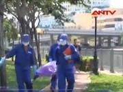 """Video An ninh - Kinh hoàng thi thể nổi dưới """"kênh xác chết"""" Sài Gòn"""