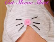 Thời trang - Tự làm tay áo đầu mèo cho bé xinh diện hè