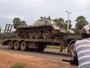 Thế giới - Campuchia: Di chuyển xe tăng, truy kẻ âm mưu đảo chính