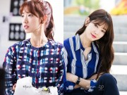 Thời trang - Mặc sơ mi họa tiết xinh như Park Shin Hye!