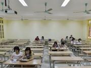 Giáo dục - du học - Sẽ chấm lại bài thi của thí sinh 10 điểm Lý, 0 điểm Toán