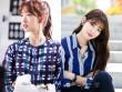 Mặc sơ mi họa tiết xinh như Park Shin Hye!