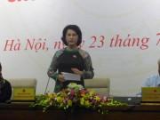 Tin tức trong ngày - Chủ tịch QH: Ông Võ Kim Cự có trách nhiệm trả lời về Formosa