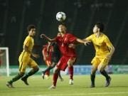 """Bóng đá - Pha chuyền bóng đẳng cấp kiểu """"mắt lác"""" của U16 Việt Nam"""
