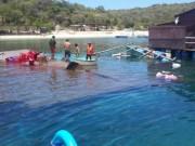Tin tức trong ngày - Sập nhà hàng nổi ở Ninh Thuận: Giẫm đạp đến đuối nước?