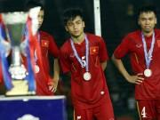 Bóng đá - Thua tức tưởi, U16 Việt Nam khóc như mưa nhận HCB