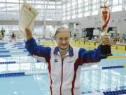 Thể thao - Cụ bà 101 tuổi hướng tới kỷ lục bơi lội ở Olympic