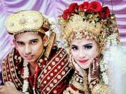Bạn trẻ - Cuộc sống - Trang phục cưới lạ mắt của các cặp đôi trên thế giới