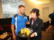 Bóng đá - Leicester đến Mỹ: Không CĐV, chỉ có tiếp viên và Beckham