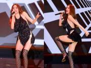 Ca nhạc - MTV - Hồ Ngọc Hà mặc táo bạo biểu diễn sung