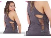 Thời trang - Hô biến áo phông cũ thành áo ba lỗ cực sexy