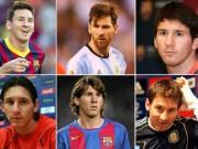 """Bóng đá - Kiểu tóc Messi: Từ thư sinh thành """"tay chơi"""" số 1"""