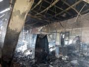 Tin tức trong ngày - Hiện trường tan hoang sau vụ cháy xưởng nến suốt đêm