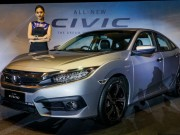 Tư vấn - Cận cảnh Honda Civic 2016 bản cao cấp giá 721 triệu đồng