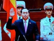 Tin tức trong ngày - Chủ tịch nước Trần Đại Quang tuyên thệ nhậm chức