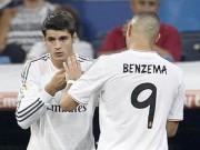 """Bóng đá - Real: Vắng CR7, Zidane dùng """"song tấu"""" Benzema–Morata"""