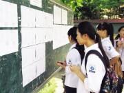 Tin tức trong ngày - Công bố phổ điểm các môn thi năm 2016