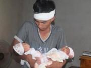 Tin tức trong ngày - Xót thương cặp song sinh vừa chào đời đã mất mẹ