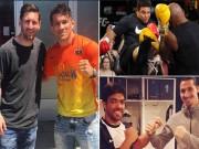 """Bóng đá - Messi, Rô """"béo"""", Ibra từng """"quyết đấu"""" với SAO UFC"""
