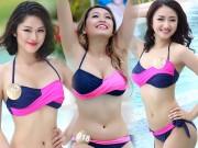 Thời trang - Dàn thí sinh hoa hậu Mỹ gốc Việt nóng bỏng với bikini