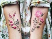 Làm đẹp - Ngỡ ngàng với hình xăm hoa lá đẹp tới mức nín thở