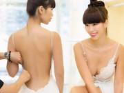 Thời trang - Hé lộ váy cưới gợi cảm của Hà Anh trước thềm hôn lễ