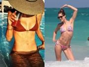 Thời trang - Ngắm loạt sao Hollywood sexy với bikini bé xíu