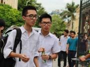 Tin tức trong ngày - Bộ GD-ĐT chính thức công bố điểm sàn vào Đại học
