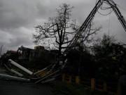 Miền Bắc mất điện diện rộng vì bão số 1 càn quét