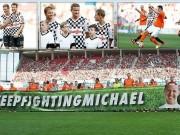 Bóng đá - Hàng loạt SAO F1 xỏ giầy đá bóng tri ân Schumacher