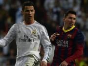 Bóng đá - Ronaldo - Messi: Đua bóng Vàng, đua cả tiền lương