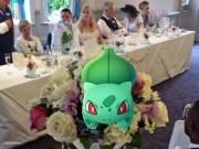 Bạn trẻ - Cuộc sống - Cô dâu sửng sốt khi lễ cưới thành đấu trường Pokemon