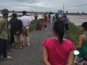 Bão số 1: Ba người chết do đâm cột điện đổ ở Nam Định