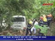 Tai nạn giao thông - Xe khách lao xuống vực, 8 người trọng thương