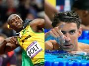 Thể thao - Siêu sao Olympic: Khúc thiên nga bất tử của Bolt & Phelps