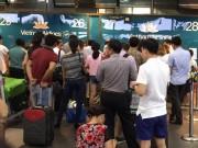 Cảnh sát điều tra  âm thanh lạ  ở sân bay Nội Bài
